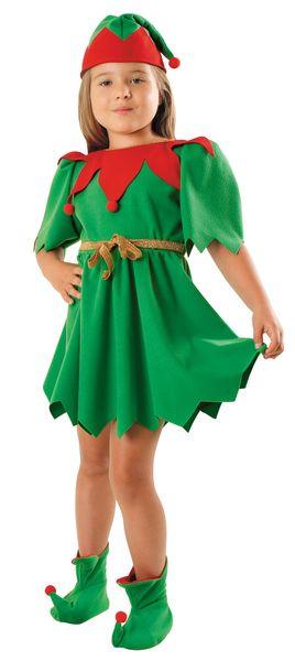 """Strój """"Elf Sukienka"""" 134/140 zdjęcie 1"""