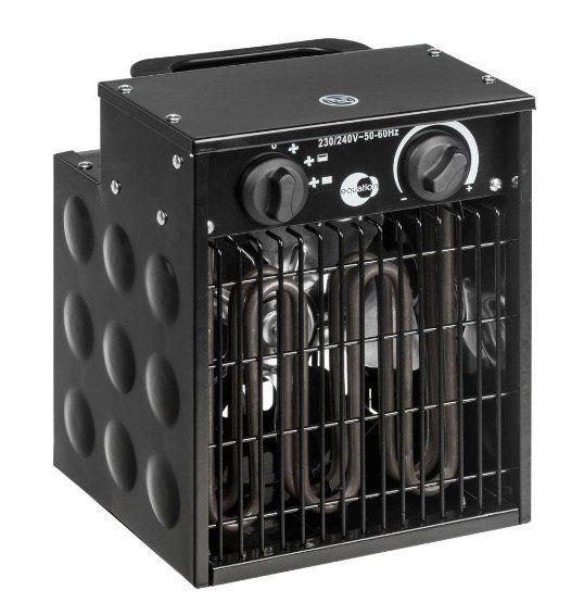 Nagrzewnica elektryczna 2000W termostat BLACK fra zdjęcie 1