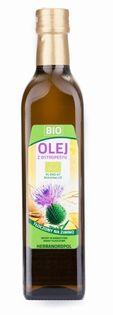 Olej z Ostropestu BIO Odmiany SILMA 500ML A