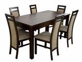 Zestaw 6 krzeseł i stół laminat GRATIS