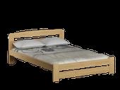 łóżko 120x200 LIDIA ze stelażem SOSNA