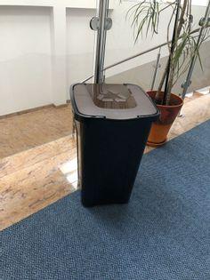 Kosz do segregacji śmieci Sortix 50L BIO pojemnik brązowy
