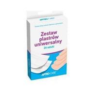 ZESTAW PLASTRÓW APTEO CARE 24 SZTUKI