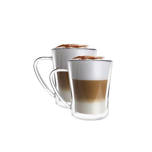 Szklanki termiczne do kawy, herbaty Latte Macchiato 250ml 2szt na Arena.pl
