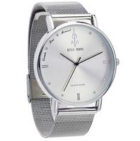 Elegancki zegarek KING HOON srebrny