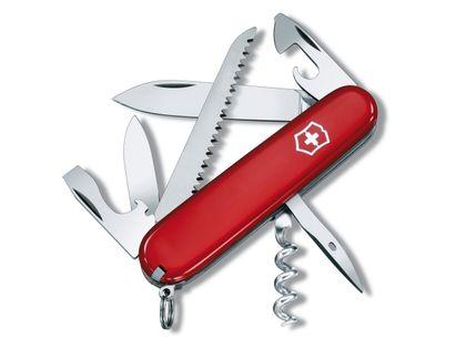 Scyzoryk szwajcarski czerwony HunCamper Victorinox