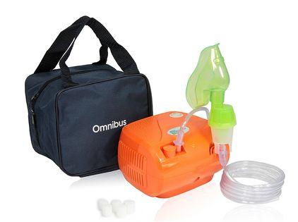 Inhalator kompresorowy nebulizator OMNIBUS BR-CN116 Orange
