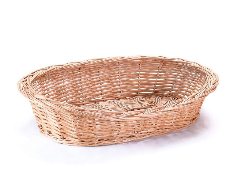 Wiklinowy leżak koszyk dla zwierząt dla kota pieska poduszka VIII k22 zdjęcie 5