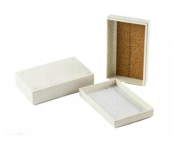 Pudełko na szkiełka mikroskopowe 25 miejsc