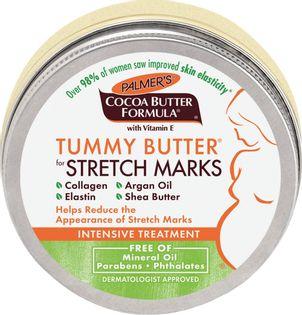 Palmer's Cocoa Butter Formula Tummy Butter For Stretch Marks Masło Do Pielęgnacji Brzucha W Czasie Ciąży 125G