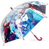 Parasol Przeźroczysty  Kraina Lodu Frozen