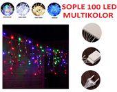 SOPLE 100 LED LAMPKI CHOINKOWE MULTI