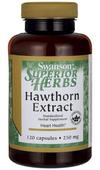 Głóg owoce extract Hawthorn Extract 120 kapsułek SWANSON