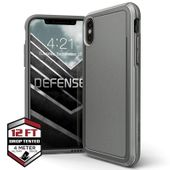 X-Doria Defense Ultra - Pancerne etui iPhone Xs / X (Drop test 4m) (szary)