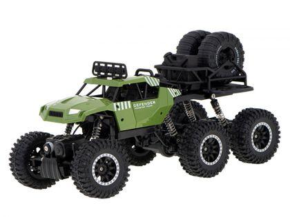 Samochód Rc 6X6 Crawler Pick-Up 2.4Ghz Zielony