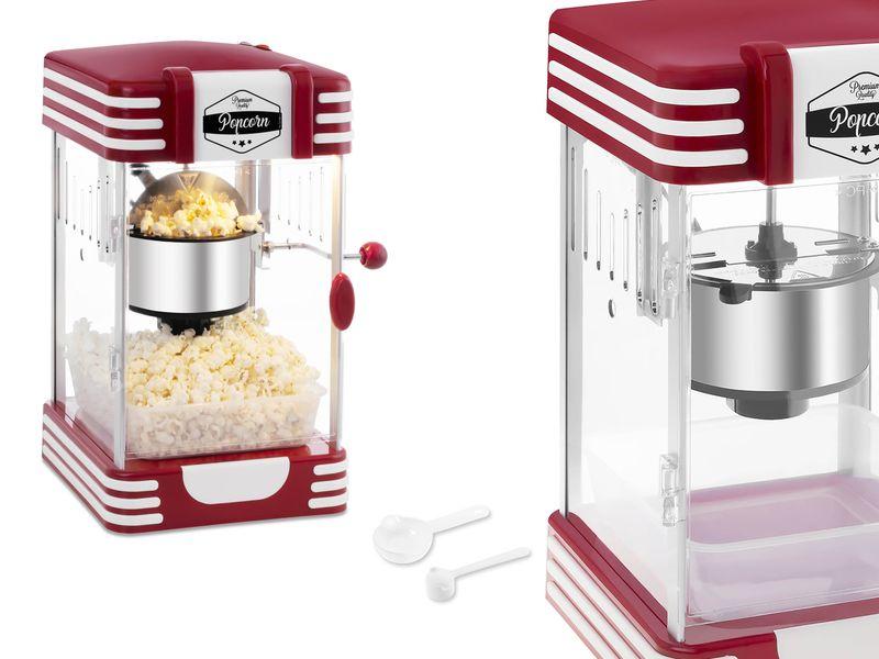 Maszyna do popcornu 300W RETRO BREDECO BCPK-300-WR zdjęcie 1