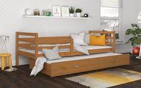 Łóżko wysuwane JACEK P2 198x86 szuflada + materace