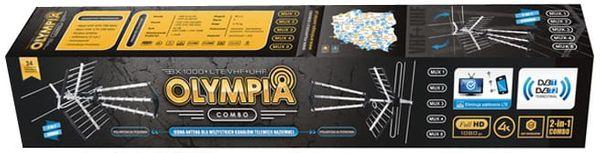 OLYMPIA BX1000 COMBO Antena DVB-T VHF + UHF + LTE 80187