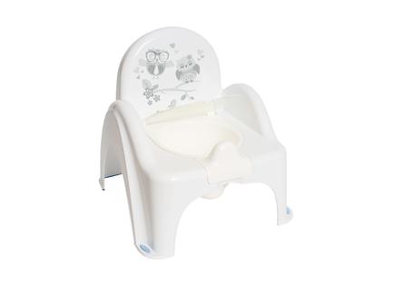 TEGA SO-010-103 Nocnik krzesełko Sowa biały