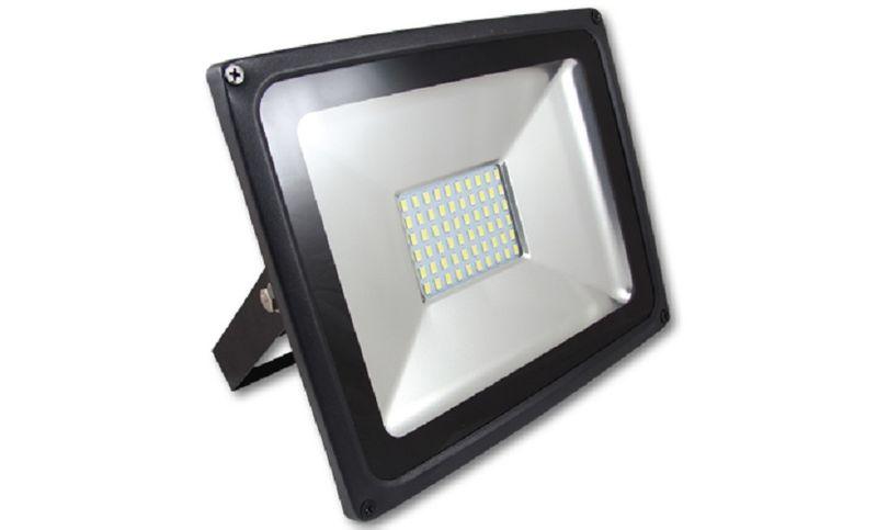 Naświetlacz Halogen Lampa LED SMD 50W ciepły zimny na zewnątrz 4500lm zdjęcie 1