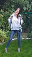 Kurtka jeans z futerkiem UNIWERSLANY