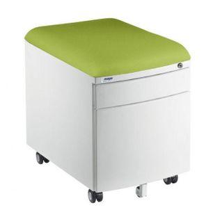 Mayer Szafka/ Pufka 2 szuflady biała/zielona Brak