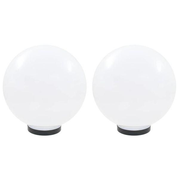 Lampy zewnętrzne LED, 2 szt., kule 30 cm, PMMA zdjęcie 2
