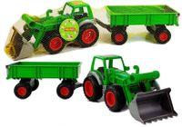 Traktor - ładowarka z przyczepą Farmer 8817