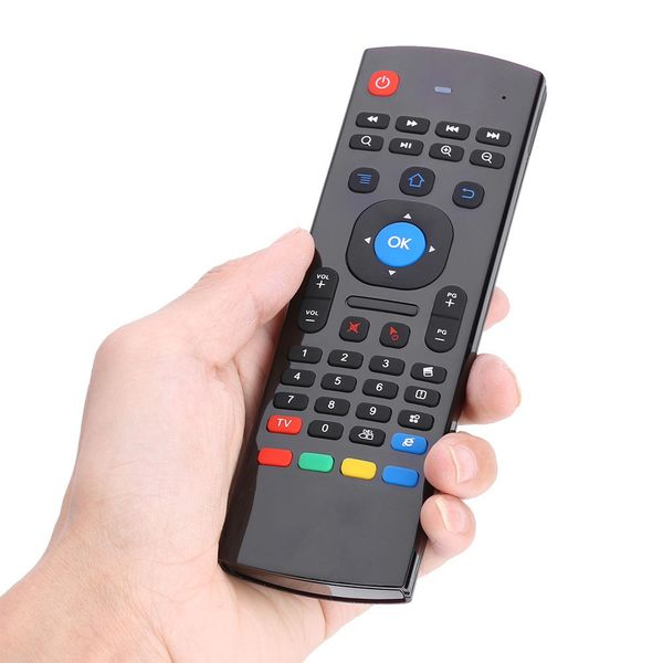 Pilot smart tv MX3 Android Box klawiatura 3w1 zdjęcie 3