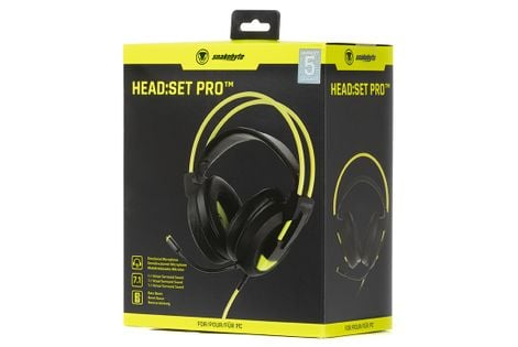snakebyte słuchawki dla graczy z mikrofonem 7.1 HEAD:SET PRO PC