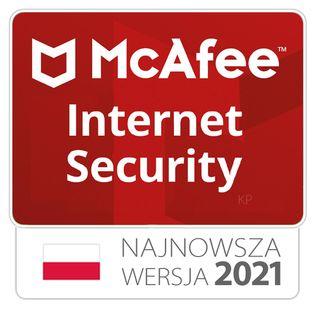 McAfee Internet Security 1PC / 1rok