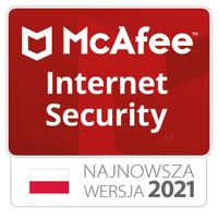McAfee Internet Security 10 stanowisk / 1rok