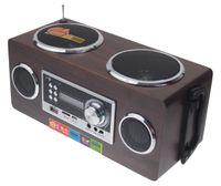 Radio TURYSTYCZNE, Odtwarzacz bezprzewodowy z akumulatorem - USB MP3 AUX głośnik