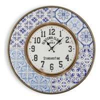 Zegar Ścienny Metal (4,5 x 63 x 63 cm)