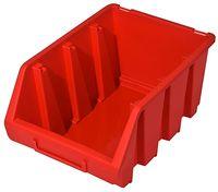 Średni Pojemnik Magazynowy Warsztatowy Ergobox 3 czerwony Patrol