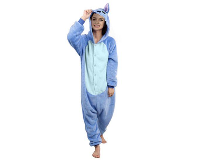 Stitch Kigurumi Onesie dres piżama kombinezon M zdjęcie 1