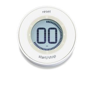 Minutnik elektroniczny do 99 min. 50 sek śred. 6,5 x 2 cm biały