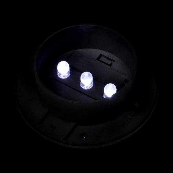 Solarne Lampy Ogrodzeniowe Led, 12 Szt., Czarne zdjęcie 7