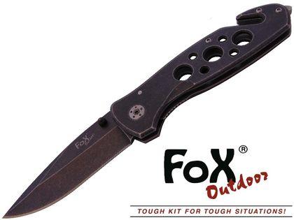 NÓŻ RATOWNICZY JACK-KNIFE FOX Outdoor