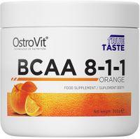 OSTROVIT BCAA 8-1-1 ZNAKOMITE AMINOKWASY - 200g Smak: Pomarańczowy