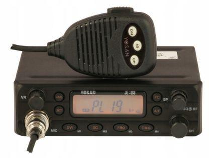 Cb Radio Yosan Jc650 dobre filtry ASQ RF-Gain
