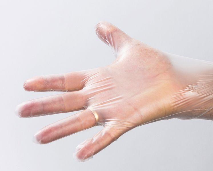 Rękawiczki zastępują nitrylowe TPE 200 sztuk M na Arena.pl