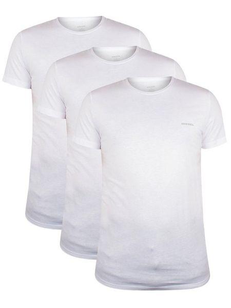DIESEL UMTEE SHIRT JAKE 3-PACK White/White/White 00SPDG-0AALW-100 - XL zdjęcie 3