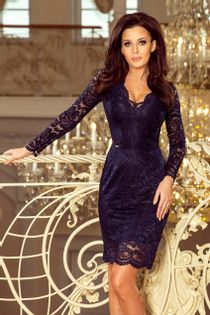 NUM 170 Piękna koronkowa sukienka WESELE__40 L 24h