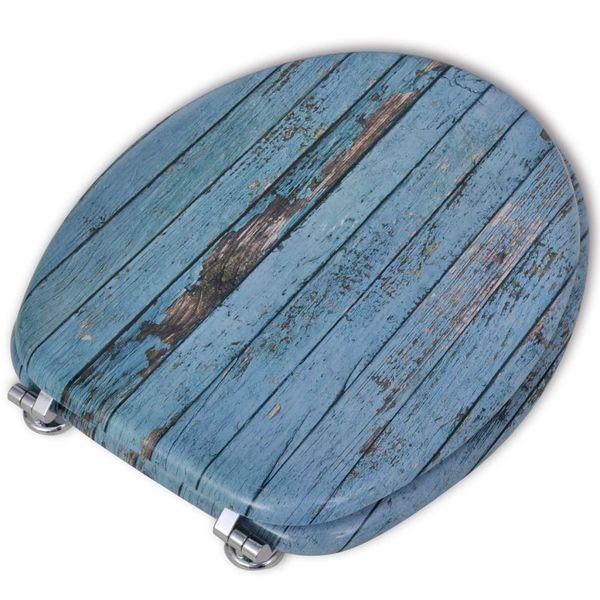 Deska klozetowa, wzór drewna zdjęcie 5