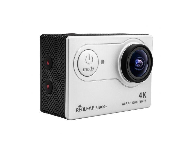 Kamera REDLEAF sportowa SJ5000+ WiFi FullHD 60fps 4K czarna zdjęcie 3