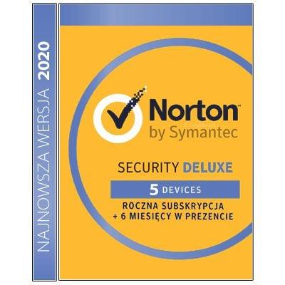 Norton Security Deluxe 5 stanowisk / 18 miesięcy na Arena.pl