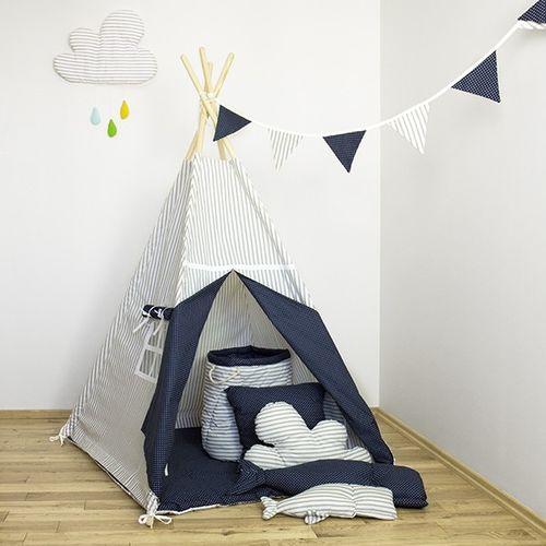 """Namiot tipi dla dziecka """"Wieczorna baśń"""" - zestaw maxi na Arena.pl"""