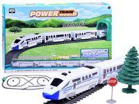 Pociag pasażerski wagony kolejka 9m  trasa RC0467