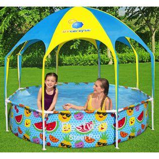 Lumarko Basen naziemny dla dzieci Steel Pro UV Careful, 244x51 cm!
